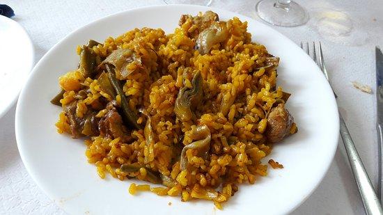 Menús arroces y paellas en Alicante. Restaurante arrocería El Bocaito.