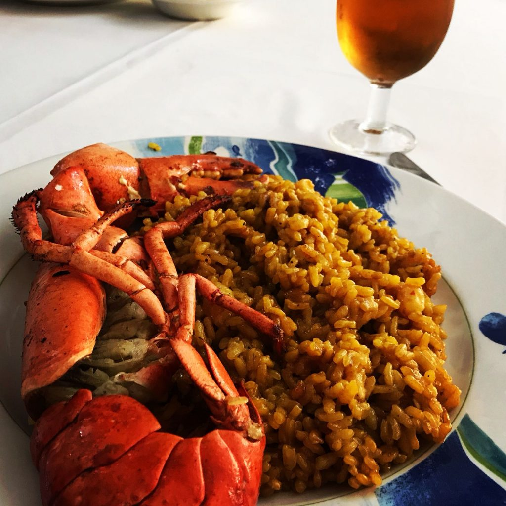 arroz con bogavante alicante